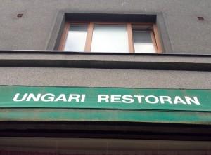 Ungari restoran